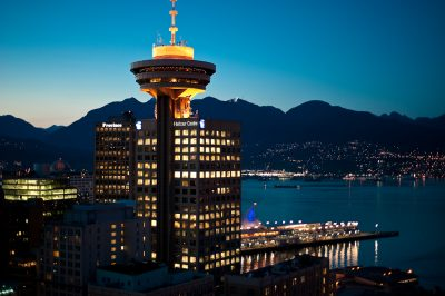 The Vancouver Lookout at Harbour Centre