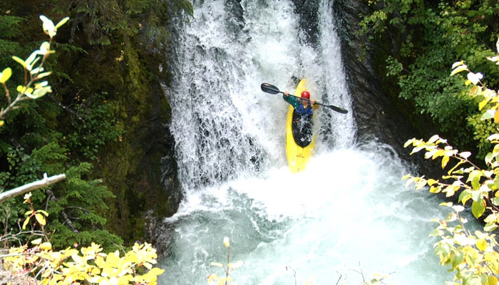 Kayaking in Smithers BC