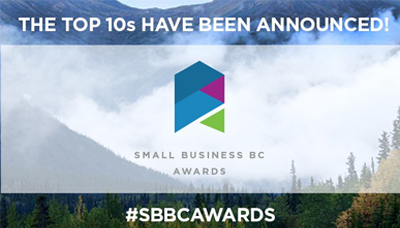Tourism & Hospitality Small Businesses Named Top 10 Semi-Finalists in 2019 Small Business BC Awards