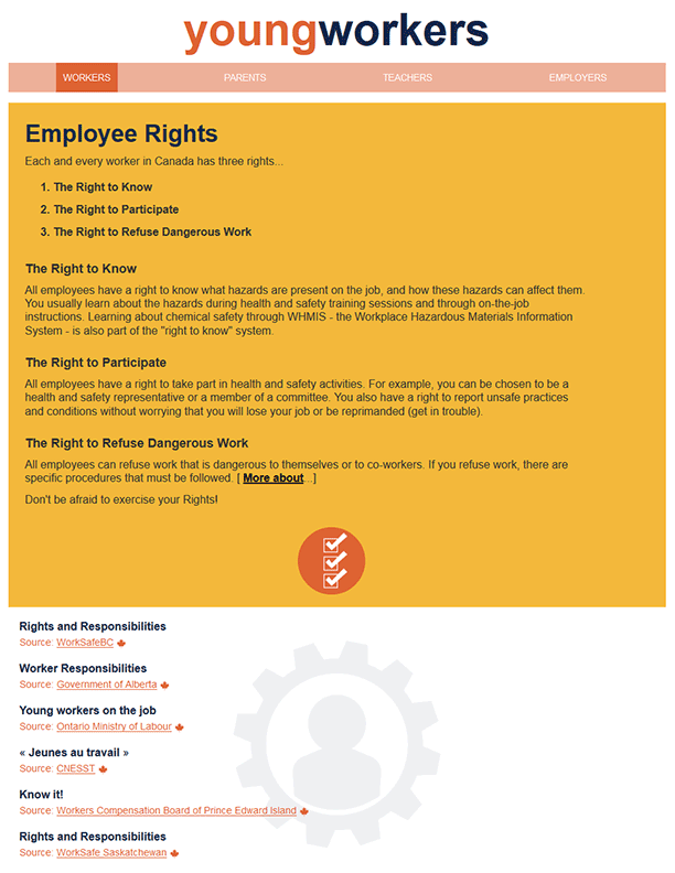 Young Workers – Employee Rights
