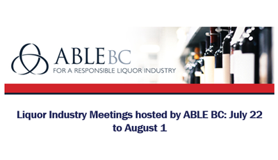 ABLE BC Liquor Industry Meeting – Osoyoos