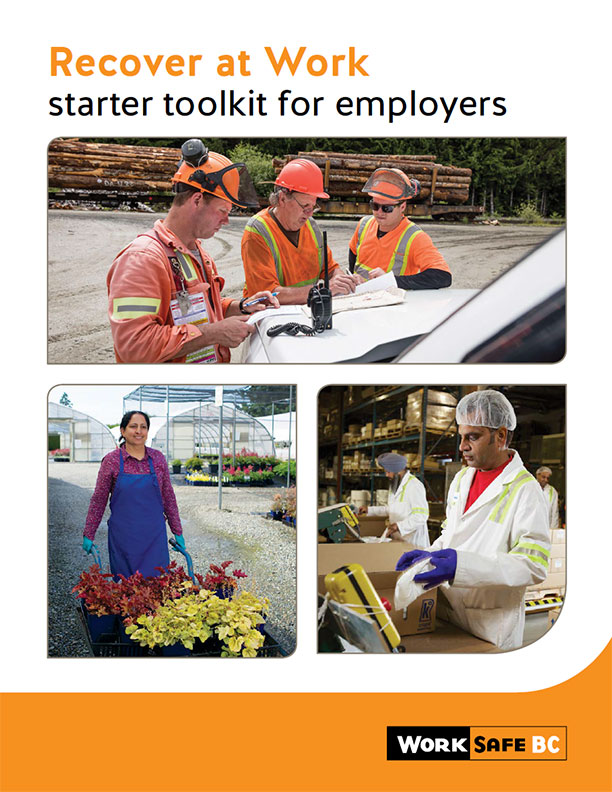 Recover at Work – Starter Toolkit for Employers