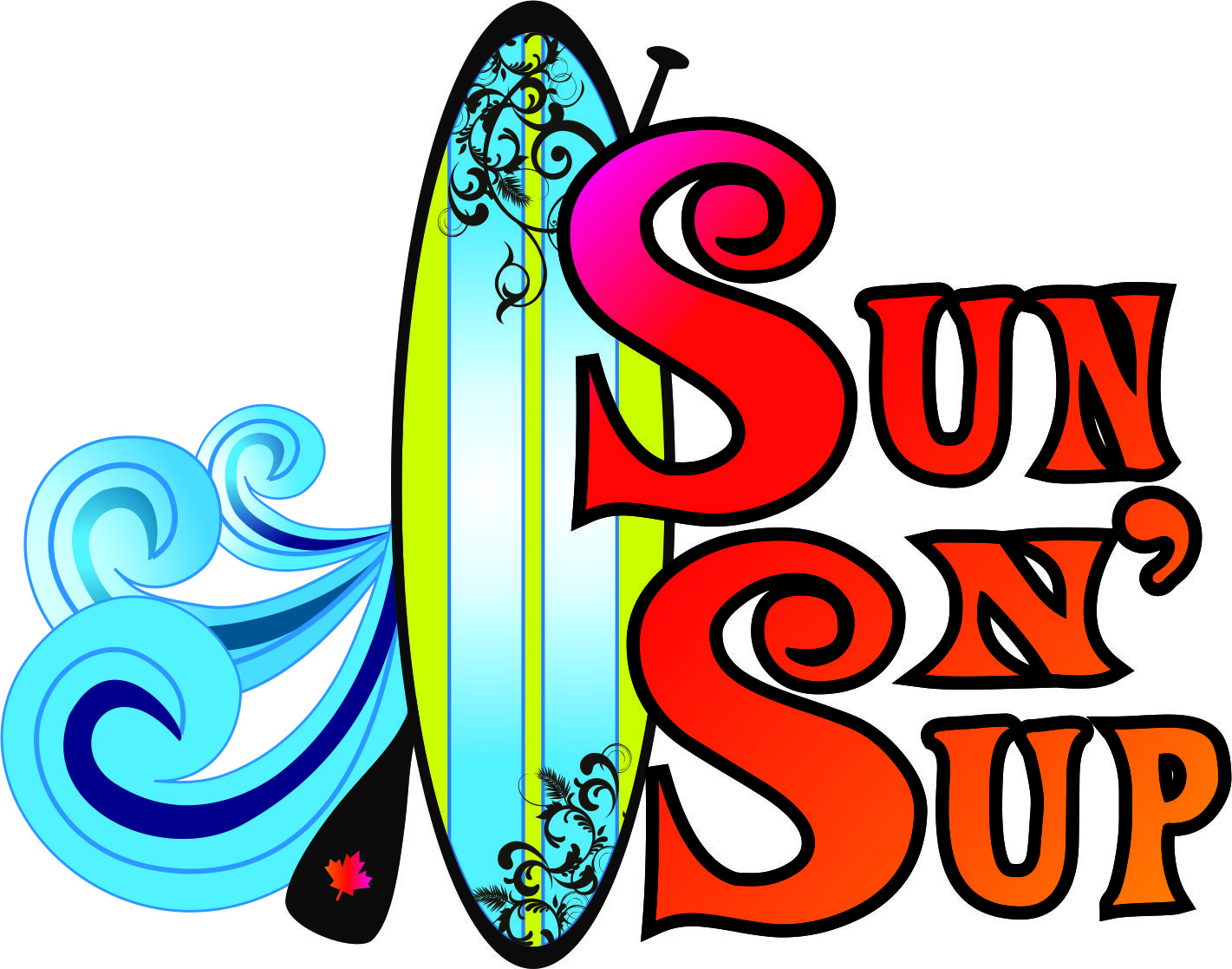 Sun n' Sup Stand Up Paddleboard