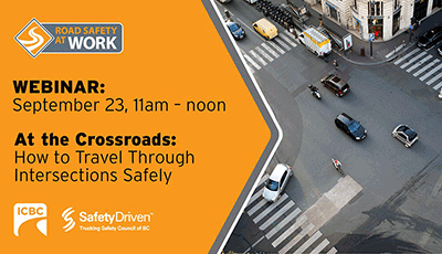 Webinar: At the Crossroads – How to Travel Through Intersections Safely