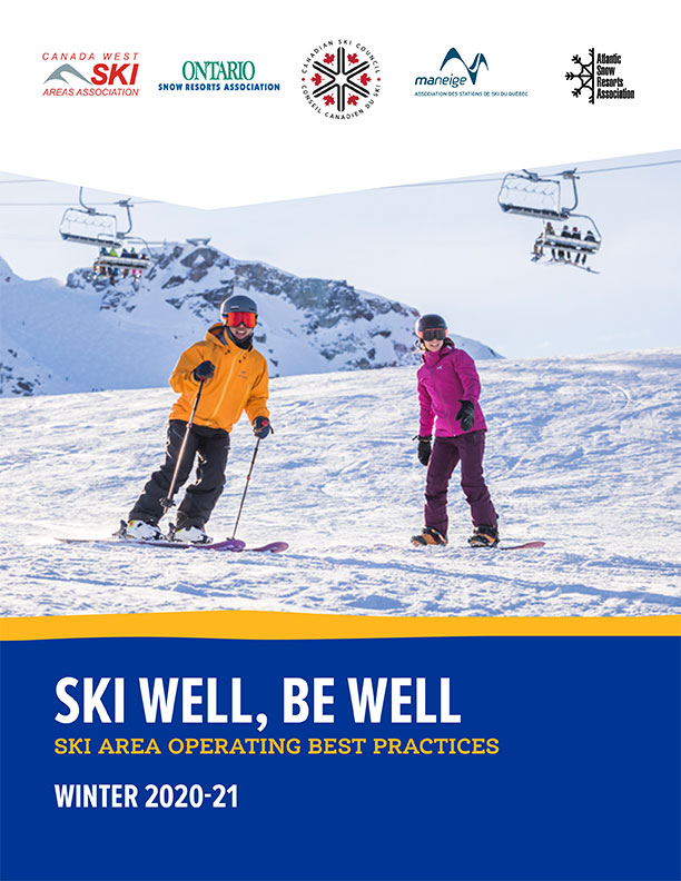 Ski Area Operating Best Practices Winter 2020-2021