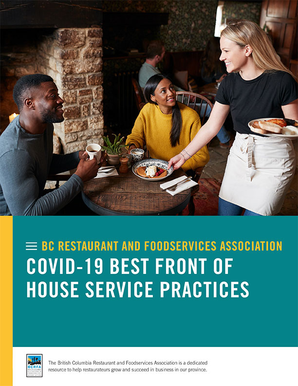 BC Restaurant and Foodservices Association COVID-19 Best Front of House Service Practices